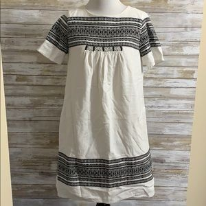 Madewell embroidered dress with pockets